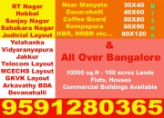 25X70 Commercial Corner property available in Amruthahalli main road