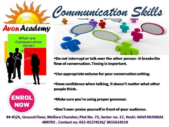 Avon academy providing communication skill & interview traning