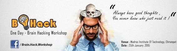 Brain hack psychology workshop