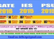best mechanical  gate 2016/ IES 2015 coaching in delhi