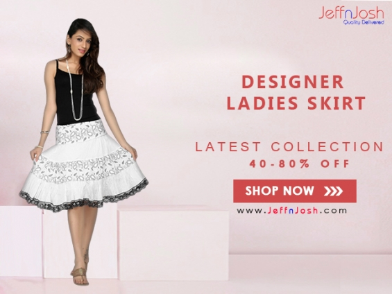 Latest collection of skirt for women