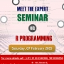 R Programming Seminar in Noida – Meet the Experts and Participate in a Mega Knowledge Shar