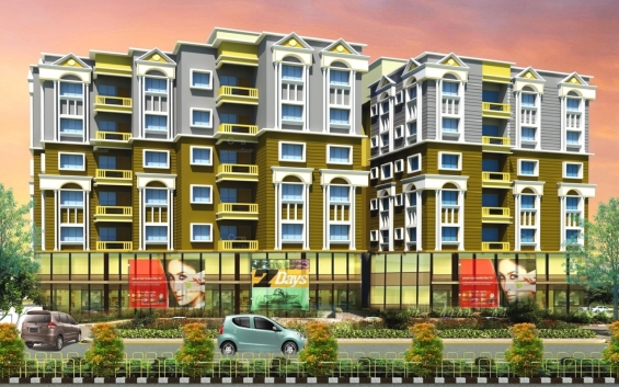 1/2/3 bhk flats in rajarhat new town, kolkata for sale