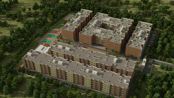 Apartment for sale near electronic city with amenities.