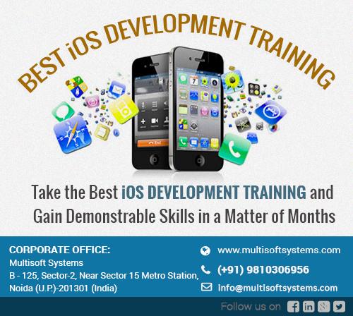 Iphone training in noida, iphone app development training, best ios development training