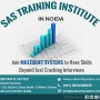 SAS Training Institute in Noida – Join Multisoft Systems to Have Skills Beyond Just Cracki