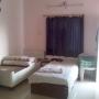 2BBHK Flat for Boys with Washing M/c Fridge TV Bed Balcony Kitchen Parking on RENT