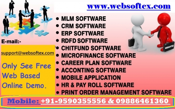Banking software, mortgage software, accounting software, e commerce software