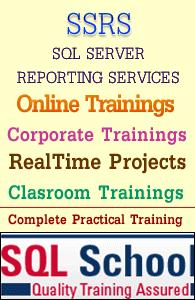 Live realtime ssrs online training @ sql school