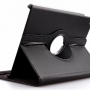 360 Degree Rotating Leather Case for Ipad Air 2/iPad 6 Black