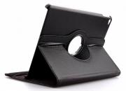 360 degree rotating leather case for ipad air 2/ipad 6 black