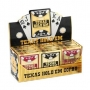 Copag TEXAS HOLD'EM Cards Brown, Silver