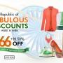 FabPanda 66th Republic Day Dhamaka Sale UPTO 66% OFF
