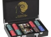 James Bond JAMES BOND 200 POKER SET Poker Set Black
