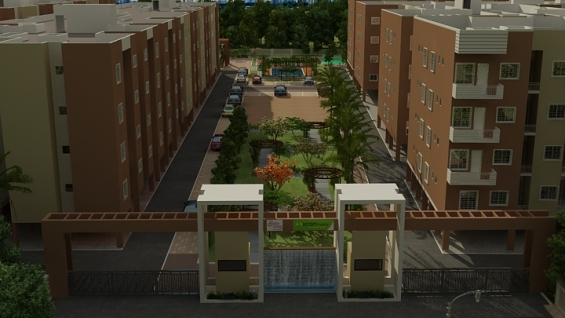 2bhk unfurnished flats at hebbagodi near electronic city with amenities.