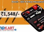 Buy Bosch - Skil 9 Piece Household Tool Kit online