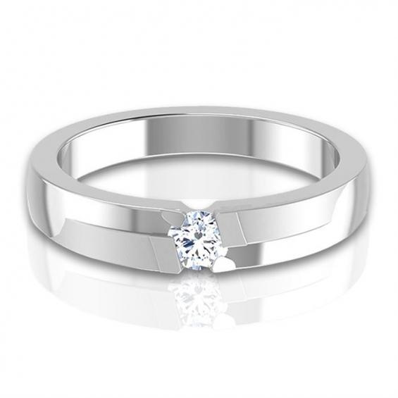 Diamond platinum band – crave you can't resist