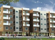 2BHK unfurnished flats for sale near electronic city. BMRDA Approved