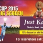 Just Kerala Bar N Kitchen - Passions Are High As The World Cup 2015 Gets Bigger Than Ever