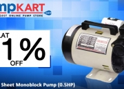 Buy Sameer 500 Sheet Monoblock Pump (0.5HP) Online in India