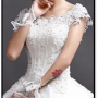 White Wedding Gown/ Christian Wedding Gown/ Chtistian Bridal Gown/ White Wedding Dress