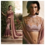 Royal Coffee Brown Colored Designer Saree
