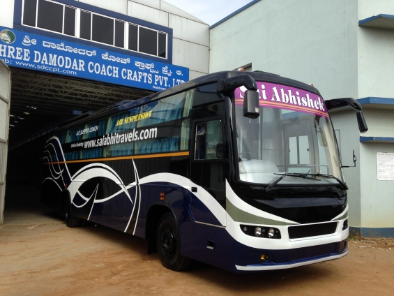 Shree damodar coach crafts pvt. ltd. | bus body builder in bangalore