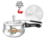 United Magic Silver Induction Pressure Cooker-United Pressure Cookers