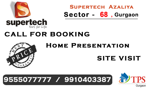Supertech azaliya sector 68 @ 9555o77777