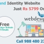 Brand Identity Website Designing starts from INR 5799