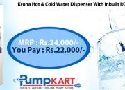 Buy online Krona Hot & Cold Water Dispenser with Inbuilt RO System