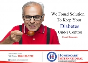 Type-2 Diabetes can be controlled Permanently With Homeopathy
