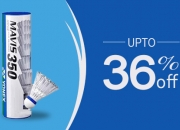 Buy Yonex Mavis 350 Nylon shuttle