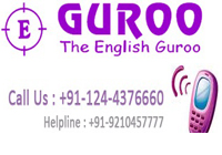 Eguroo speaking classes for spoken english course