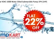 Kirloskar KS4C-1008 Water Filled Submersible Pump-1PH (1HP) Online