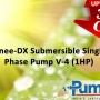 Sonee-DX Submersible Single Phase Pump V-4 (1HP) Online
