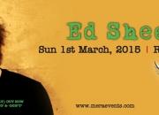 Ed sheeran - fly music festival