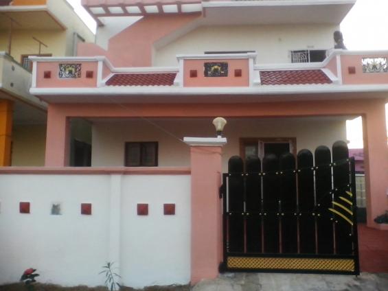 Individual house ready for sale