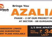 Supertech Azalia 1 BHK Call @ 9250404177 Semi Luxury Apartment in sector 68 Gurgaon