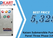 Buy Kaizen Submersible Pump Control Panel Three Phase (UPTO 3HP) Online