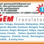 Document Translation Services in 50+ Languages in Chennai
