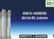 M3m st. andrews sector 65 gurgaon @ 9555o77777