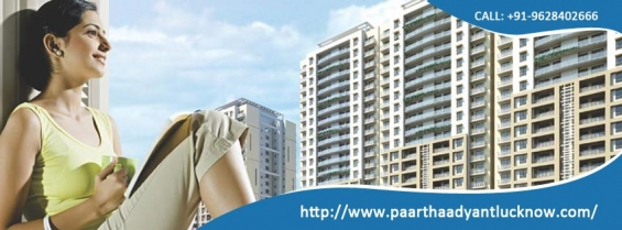 Paarth aadyant offering 3bhk flats in lucknow