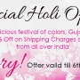 Special Holi Offer – Flat 10% off on Shipping of all GujaratFood.com Products