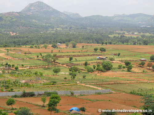 Developed land farms in banglore at reasonable price only rs,277pr,sq,ft, kanakapura road,