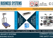 Fire safety equipments, cctv camera security systems, electronic weighing scales in india