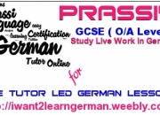 Learn german and get goethe certified with prassi online coaching