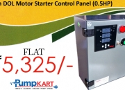 Purchase kaizen dol motor starter control panel (0.5hp) online in india
