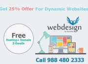 Design your Dynamic Website at your Budget