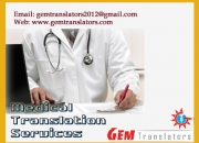 Medical translation services in  in hyderabad chennai trichy madurai coimbatore